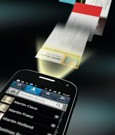 Visitenkarten App by Visitenkarten Per Smartphone App Einlesen C T Magazin