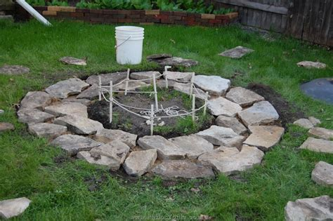 Firepit Stones Diy Pit 05 Flange Fitting Inspiration And Design Ideas For House Diy