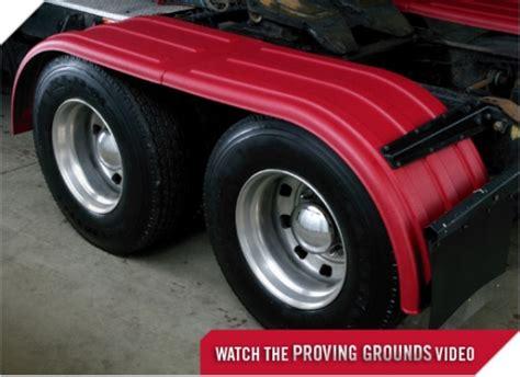 minimizer fenders  brute fenders minimizer  tandem axle poly fenders heavy duty semi
