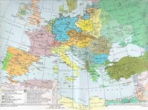 Europe Map 1939 by Maps Of Europe Interwar Period 1918 1939 Mapa Owje Com