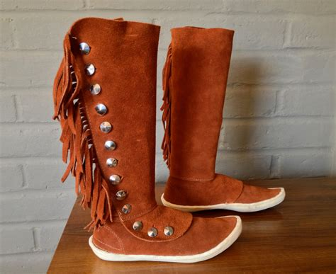 indian boots for authentic american made vintage 70s 1970s indian boots