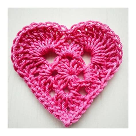 free crochet heart pattern uk ravelry granny heart square pattern by crochet tea party