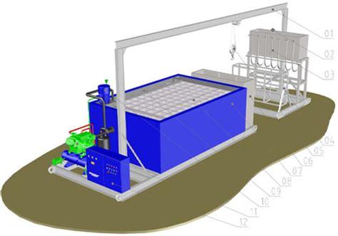 brine refrigeration   block ice machine  ice block machine