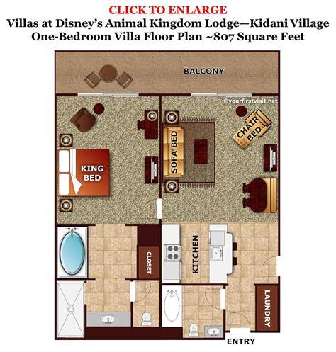 disney floor plan review kidani at disney s animal kingdom villas villas disney vacations and disney 2015