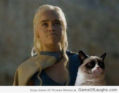 khaleesi   grumpy cat game  laughs