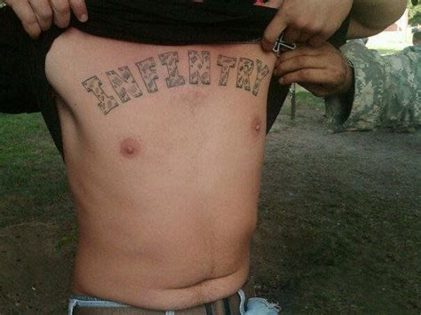 Infantry Tattoo Fail | 169 best worst tatoos ever images on pinterest funny