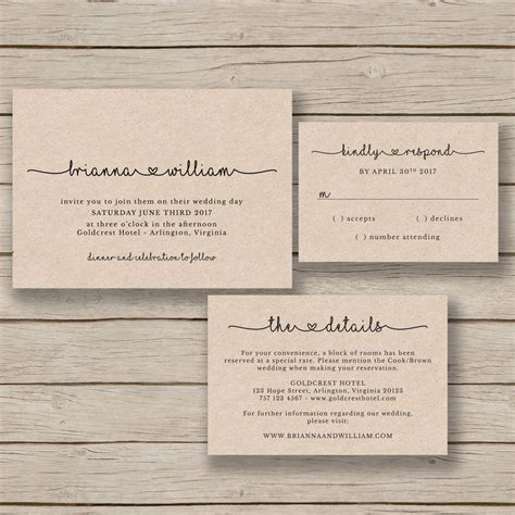 free templates for rustic invitations wedding invitation template rustic wedding printable