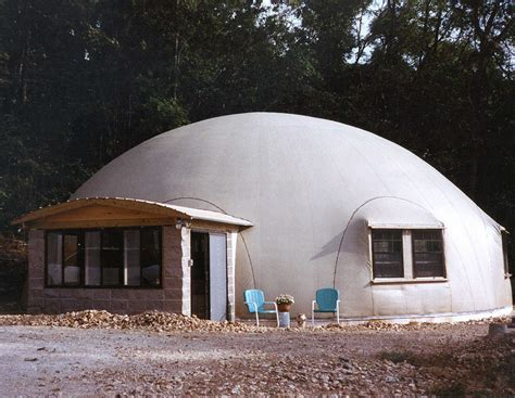 dome house at home in jasper arkansas monolithic dome institute