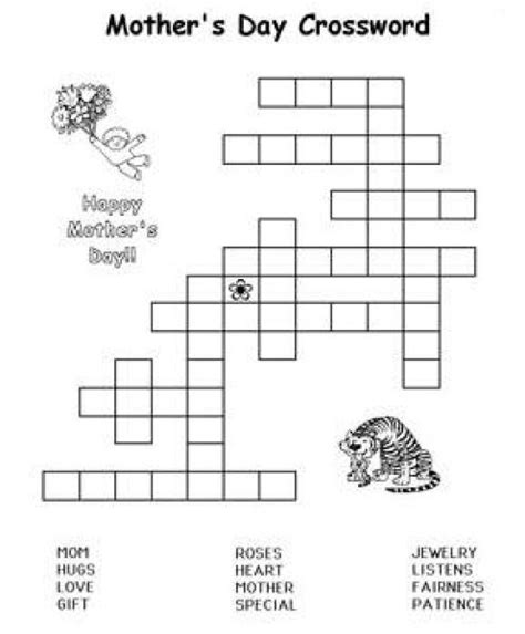 s day puzzle mothers day printable activities coloring pages