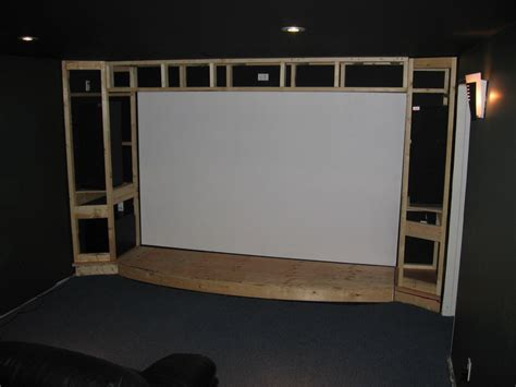 construction installing  system  home theater