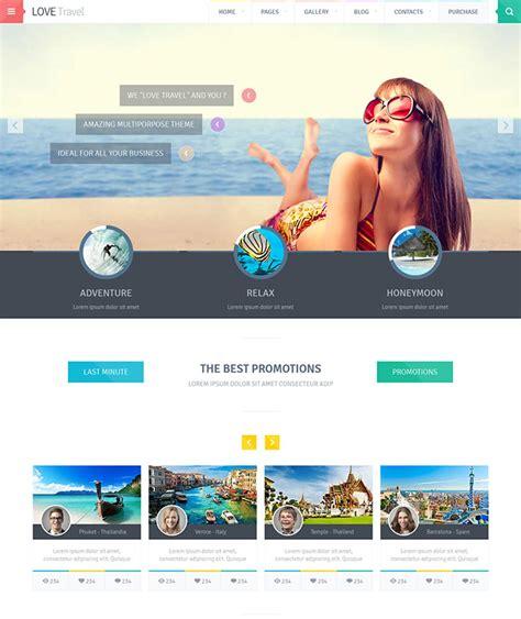 22 Beautiful Travel Website Templates Web Graphic Design Bashooka Cool Html Website Templates