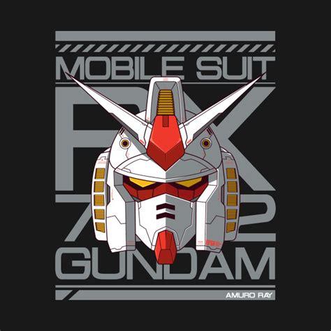 T Shirt Gundam Mobile Suit 7 gundam rx 78 2 gundam t shirt teepublic