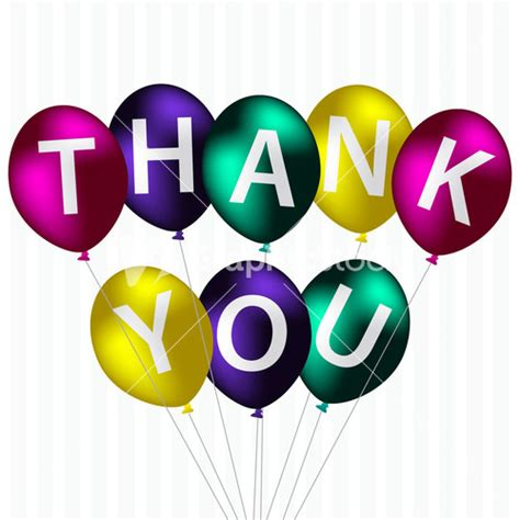Thank You Letter Balloons Thank You Royalty Free Vectors Illustrations And Photos