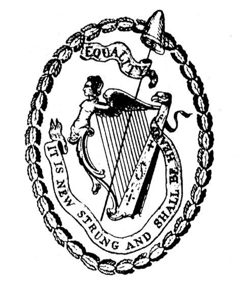 file seal of united irishmen jpg wikimedia commons