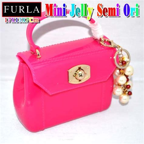 Tas Jelly Mini Tas Selempang Jelly reiki