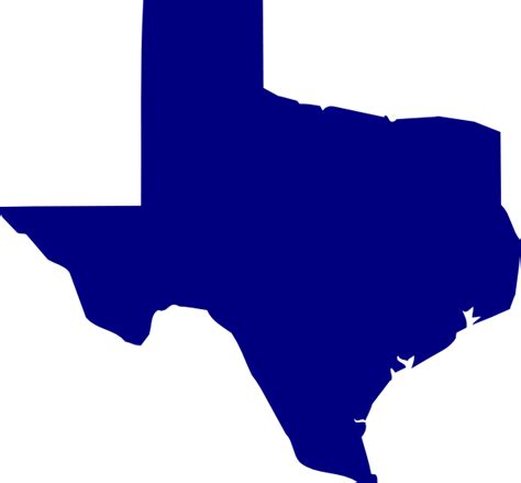 texas map logo blue texas clip at clker vector clip royalty free domain