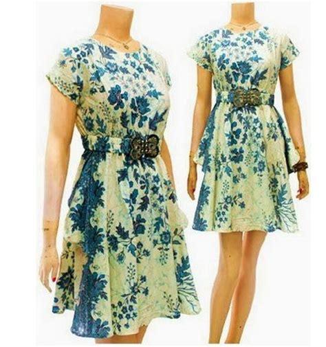 Dress Terusan Batik Wanita dress batik modern terbaru dbd03 baju batik wanita dress modern toko baju batik