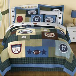 jcpenney almohadas jcpenney sports match quilt patchworķ colchas