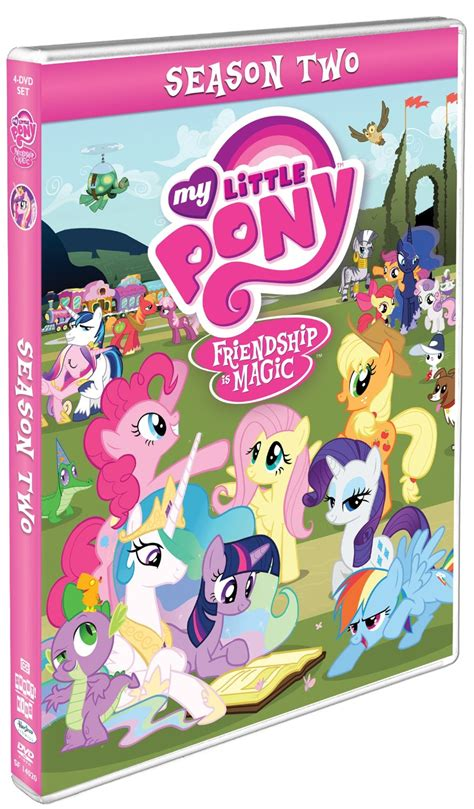 Seri Dvd Animasi My Pony Friendship Is Magic Season 1 my pony friendship is magic kausi 2 dvd shout