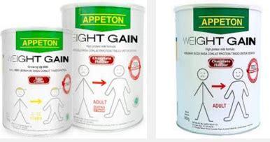 Appeton Weight Gain Untuk Dewasa Di Malaysia harga terbaru appeton weight gain di carefour kita