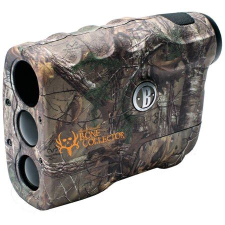 Bushnell 4x20 Bone Collector Lrf Laser Rangefinder Camo Camo Bone Collector