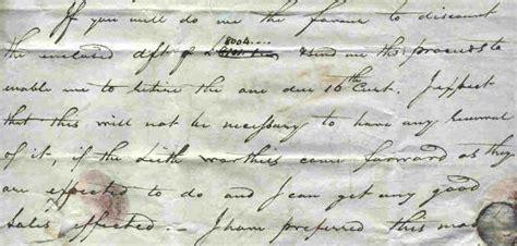 Aberdeen Acceptance Letter To Aberdeen 1815