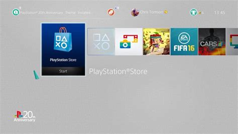 Ps4 20th Anniversary ps4 theme 20th anniversary by thomasandstanley on deviantart