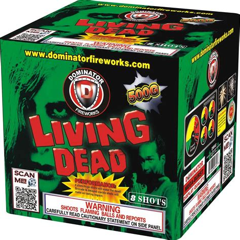 fireworks house dead spark renewed call for living dead dominator living dead 500 gram cakes dm502