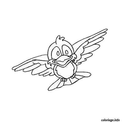 Le Dessin D Un Oiseau En Vol Pour Le Coloriage Un Dessin D Oiseau L