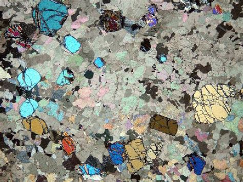 marble thin section rocks under the microscope index