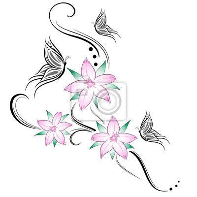 disegno fiore di ciliegio disegni tatuaggi fiori di ciliegio tatuaggio