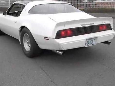 1979 pontiac firebird trans am formula 400 6.6l v8 youtube