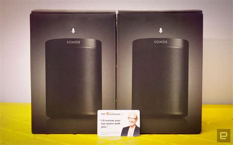 engadget giveaway win  pair  sonos  speakers courtesy  turbotax