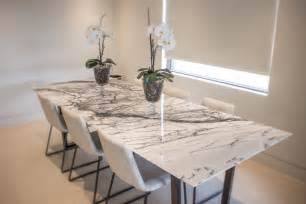 Black And White Dining Room New York Marble Dining Table Euro Natural Stone