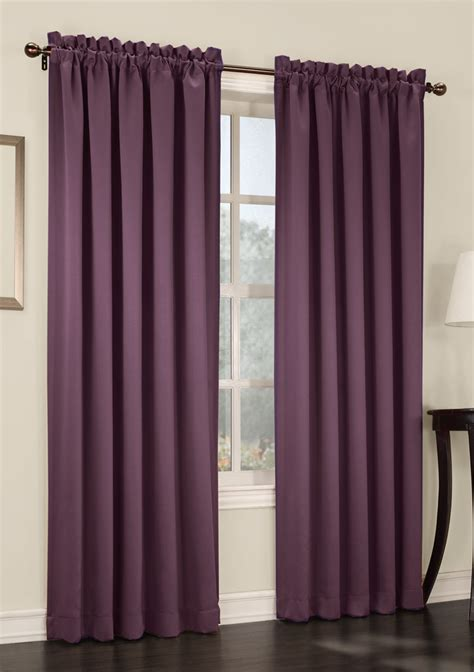 plum curtains s lichtenberg madison room darkening rod pocket panel