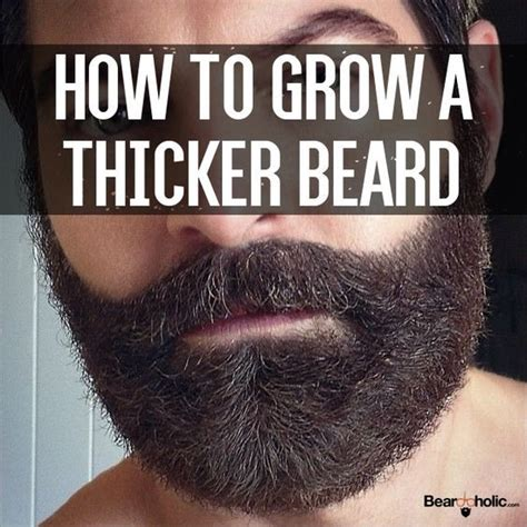 3 ways to grow a thicker beard wikihow 182 best ideas about the beard factor on pinterest full