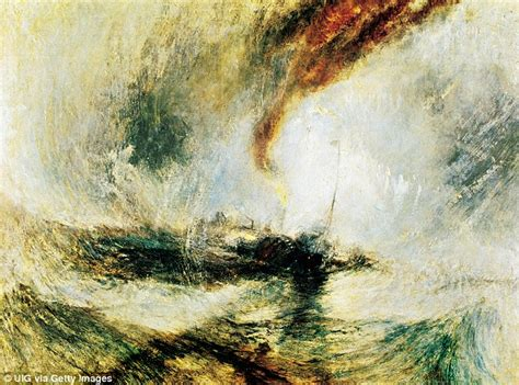 snow storm steam boat off a harbour s mouth jmw turner claudia winkleman to simon schama on their