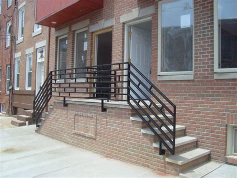 front porch metal railings front porch wrought iron railings made by capozzoli