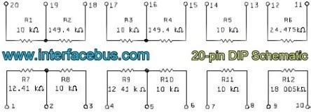 definition of resistor network dip resistor definition 28 images pole 10 pin switch define dip switch 10 position view 10
