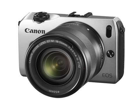 canon eos m compact system canon eos m compact system silver 18mp includes