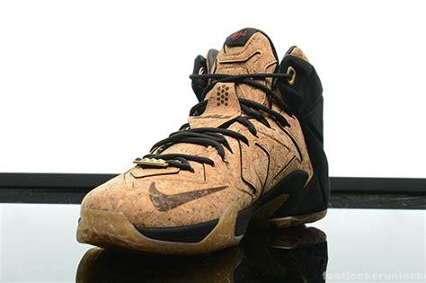 cork basketball shoes nike lebron 12 cork sneaker bar detroit