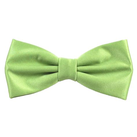 plain avocado green bow tie from ties planet uk