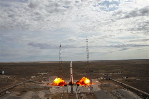 Proton Rocket Launch by Proton M Returns To Flight With Launch Of Echostar 21