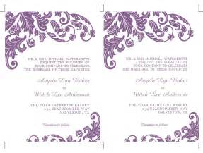 Microsoft Wedding Invitation Templates Free by Wedding Invitation Wording Microsoft Office Word Wedding