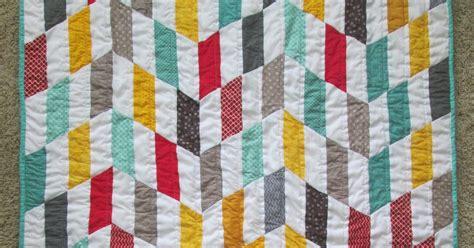 Chevron Stripe Quilt Pattern by Quackadoodle Quilt Striped Chevron Quilt