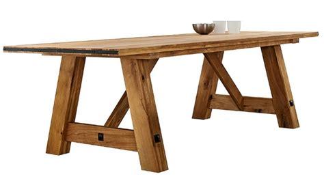 tavolo in legno massello prezzi tavolo rettangolare in legno massello di rovere 200 cm