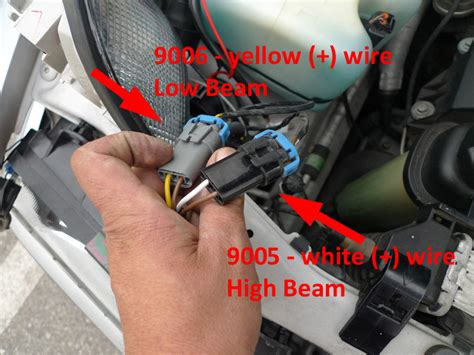 parking light wire colors revi motorwerks depo bmw e36 headlight removal