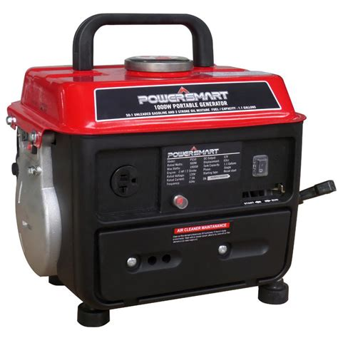 powersmart 900 watt gasoline powered manual start portable