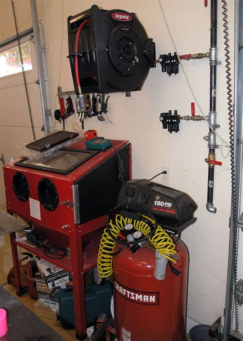 How To Plumb An Air Compressor System by Plumbing A Shop Air System Http Www Cnccookbook