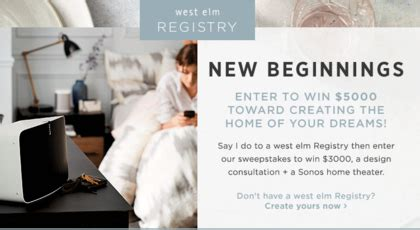 West Elm Sweepstakes 2017 - sweepstakes giveaways contests sun sweeps